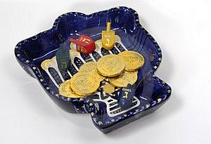 Chanukah Bowl 2 Royalty Free Stock Images - Image: 40709