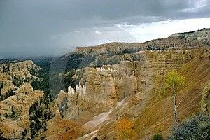 Bryce Canyon Storm Stock Photos