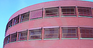Red Building Royalty Free Stock Image - Image: 43226