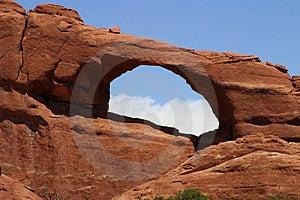 Southwestern Arch Royalty Free Stock Photo