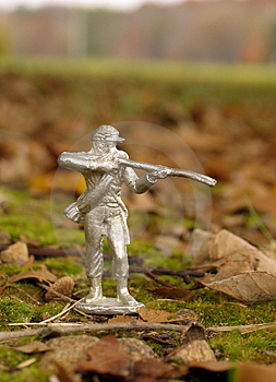 Tin Soldier Stock Photo