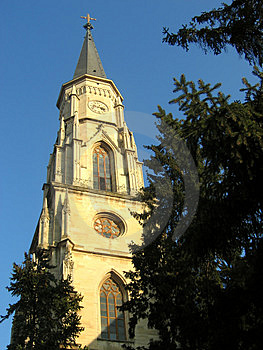 Saint Michael Cathedral Tower - Cluj-Napoca, Romania Royalty Free Stock Images - Image: 44789