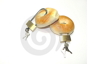 Locked Bagels Free Stock Photos