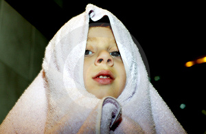Drying Off Royalty Free Stock Image - Image: 46236