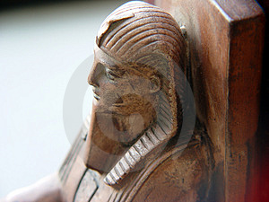 Sphinx Bookend Stock Photography