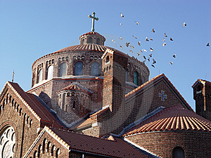 Church Roof Royalty Free Stock Photo - Image: 48075