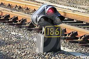 Railroad Light Stock Photos - Image: 48843