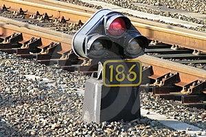 Railroad Light Stock Photos