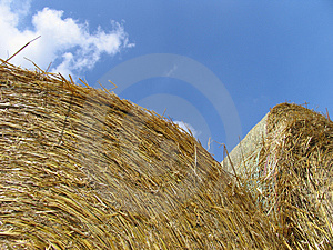 Hay Bales Free Stock Images