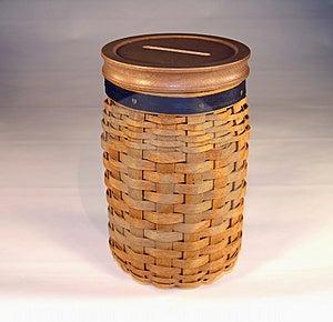 Basket Bank Stock Photography