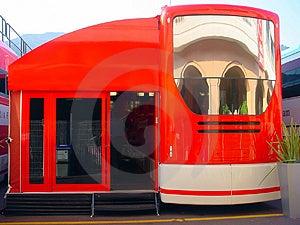 Ferrari Van Free Stock Image