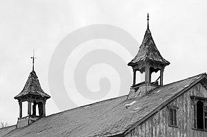 Barn Steeples Royalty Free Stock Photo - Image: 49775