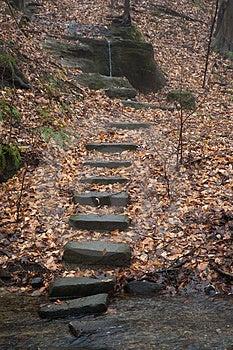 Stone Stairs Stock Image