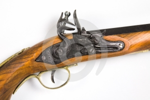 Antique Pistol 3 Royalty Free Stock Photos - Image: 406008