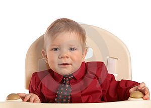 Boy In  Shirt With Tie Royalty Free Stock Images - Image: 4001169