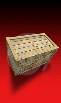 Wooden Container Royalty Free Stock Photo - Image: 4002315