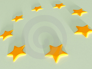 Stars Objects On Background Stock Photo - Image: 4005120