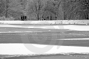 Frozen Lake Royalty Free Stock Photo - Image: 4007305
