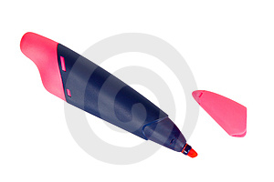 Red Marker Stock Photos - Image: 4014043