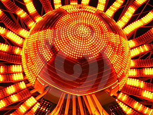 Sunflower Lights Royalty Free Stock Photography - Image: 4014307