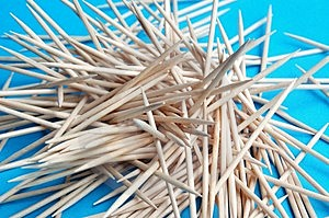 Toothpicks Stock Photos - Image: 4018463