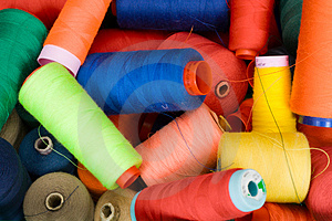 Color Threads Royalty Free Stock Photo - Image: 4021045