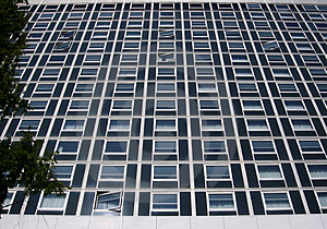 Luxury Hotel Windows Stock Photo - Image: 4021900