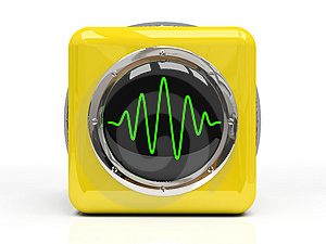 Yellow Measuring Instrument Royalty Free Stock Photo - Image: 4022005