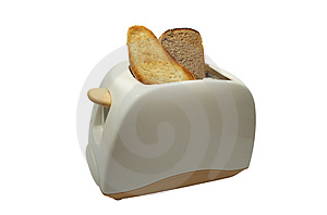 White Toaster Stock Images - Image: 4022124