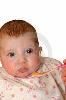 Baby Feeding Royalty Free Stock Images - Image: 4024329