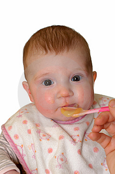 Baby Feeding Royalty Free Stock Photo - Image: 4024385