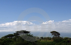Kilimanjaro Free Stock Photography