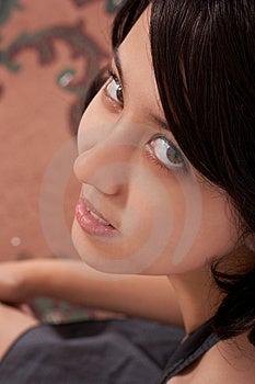 Härlig Asiatisk Flicka Arkivbild - Bild: 4028002