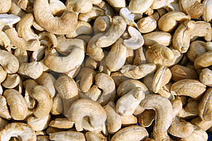 Closeup Of Cashewnuts Stock Photo - Image: 4032100