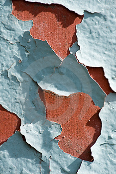 Cracked Paint Royalty Free Stock Image - Image: 4034026