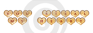 You Steal My Heart 1 Royalty Free Stock Photos - Image: 4036338
