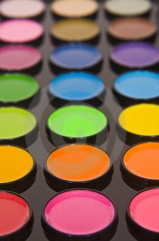 Art supplies - paint Stock Photo