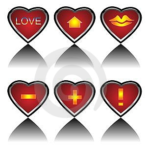 Love Icon Royalty Free Stock Photo - Image: 4042995