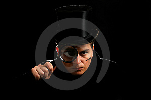 Agent In Cylinder Royalty Free Stock Photos - Image: 4046348