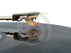 Hi-fi Turntable Stylus Isolated On White Royalty Free Stock Photos - Image: 4051048