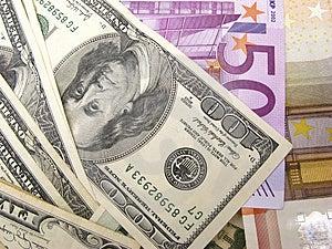 Euro And Dollar Stock Photos - Image: 4051473