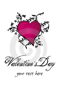 Valentine`s Day Heart Stock Images - Image: 4051814