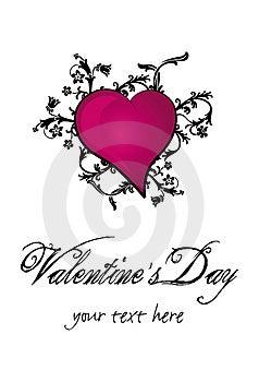 De Daghart Van Valentine ` S Stock Afbeeldingen - Afbeelding: 4051814