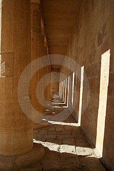 Temple Of Hatshepsut (Egypt) Stock Photo - Image: 4052910