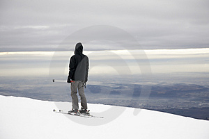 Skier Royalty Free Stock Photo - Image: 4055785