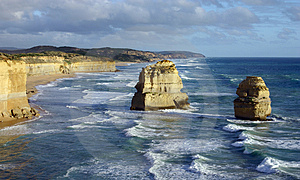 Great Ocean Road Free Stock Image