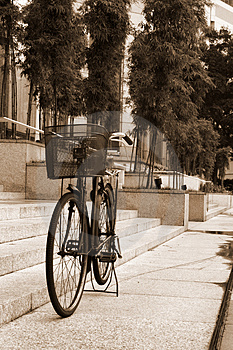 Retro Bicycle Stock Photos - Image: 4058393