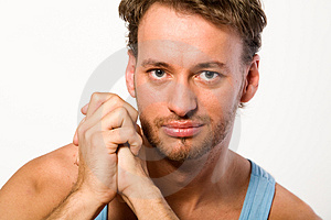Portrait Of A Young Adult Man Royalty Free Stock Photos - Image: 4065568