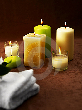 Spa ambient Royalty Free Stock Photography