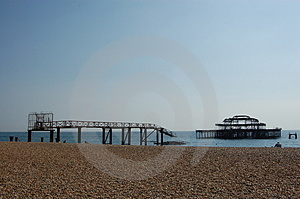 Brighton Beach Royalty Free Stock Images - Image: 4077359